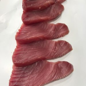 Fresh Tuna Loins at Peets Plaice in Southport