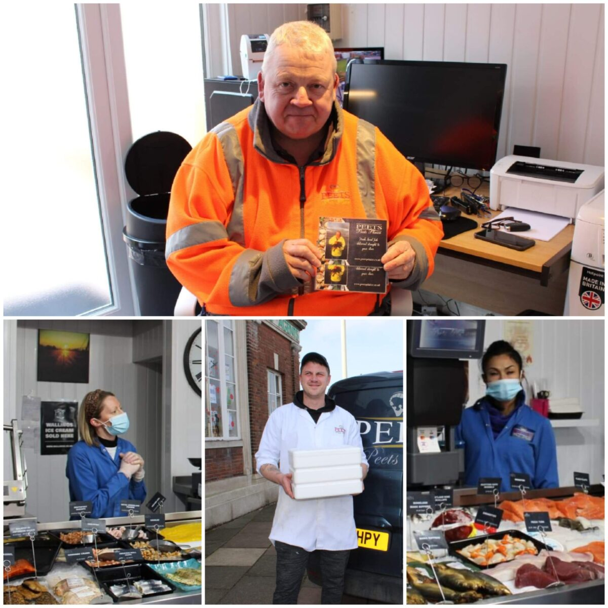 Meet our passionate and dedicated team at Peets Plaice bringing the shore to your door