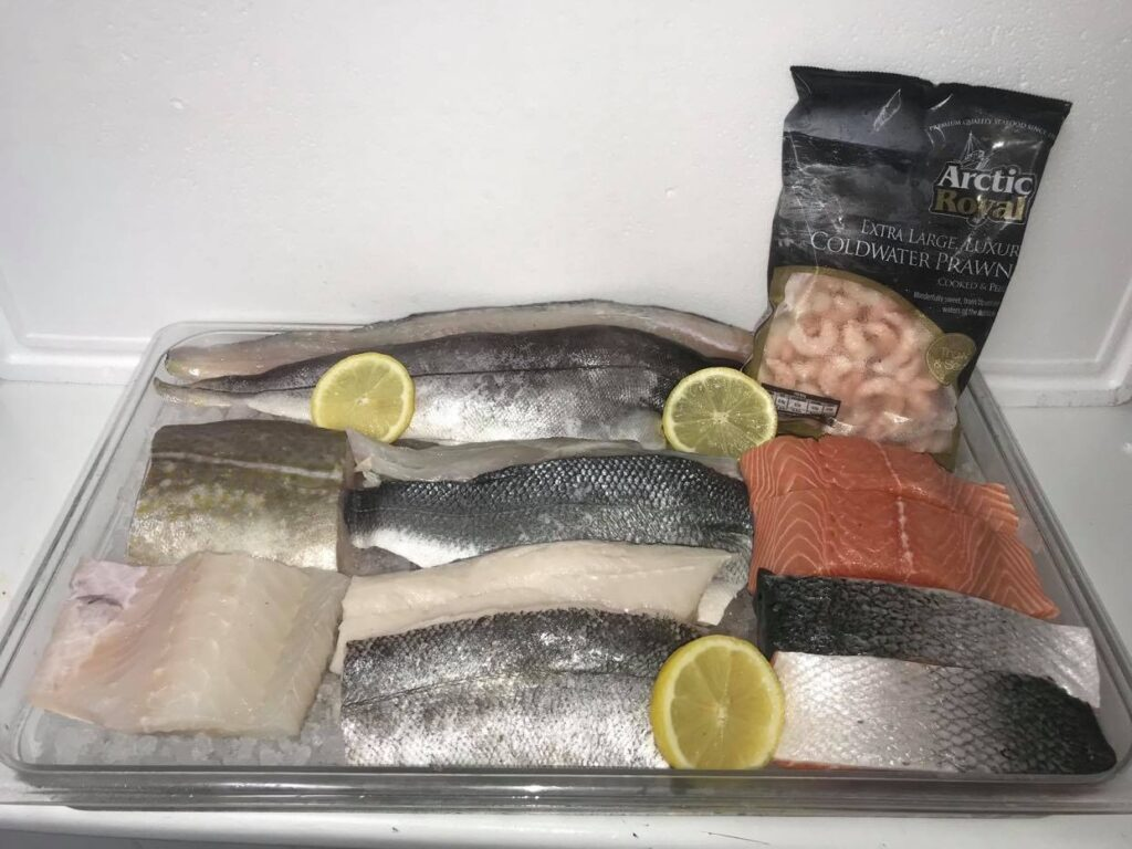 The Fresh Fish Freezer Package at Peets Plaice in Southport