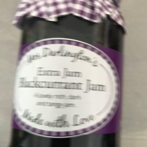 Mrs Darlington's Blackcurrant Jam at Peets Plaice in Southport