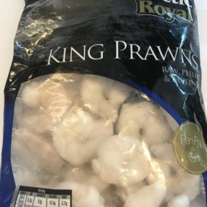 Arctic Royal King Prawns at Peets Plaice in Southport