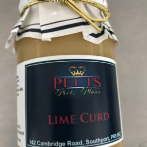 Lime Curd at Peets Plaice in Southport