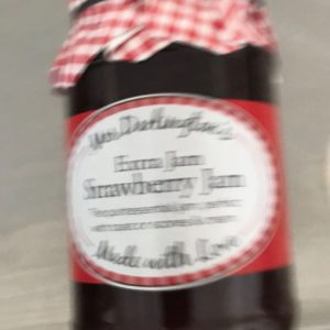 Mrs Darlington's Strawberry Jam at Peets Plaice in Southport