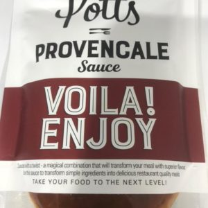 Potts' Provencale Sauce at Peets Plaice in Southport