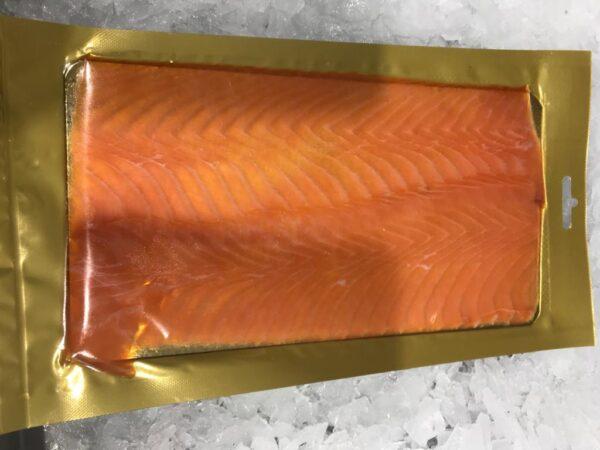 Smoked Salmon 100g packsfrom Severn and Wye Smokery.