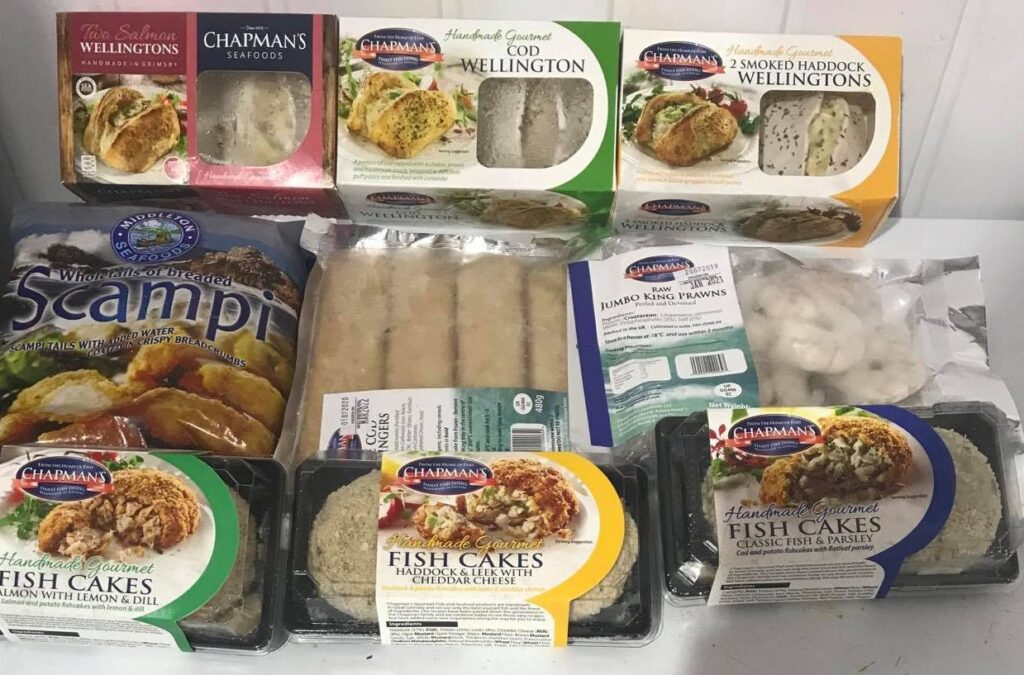 The new Chapman's Freezer Pack available at Peets Plaice in Southport